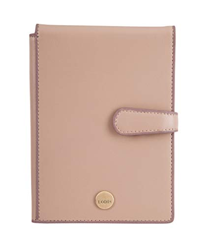 Lodis Accessories Women's Rodeo RFID Passport Wallet with Ticket Flap Latte One Size ()