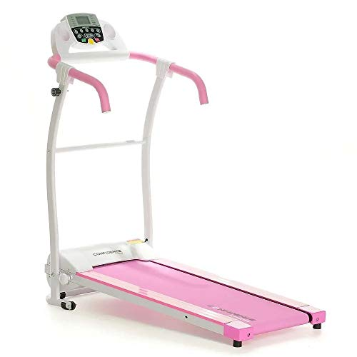 (Confidence Fitness TP-1 Electric Treadmill Folding Motorised Running Machine Pink)