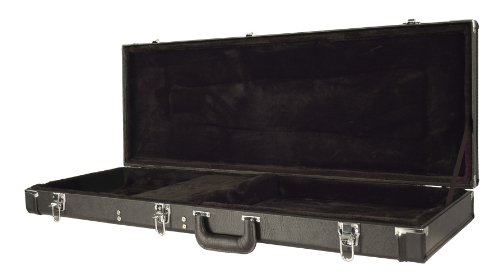 Guardian CG-022-E Deluxe Hardshell Case, Electric Guitar (Stratocaster Case Deluxe)