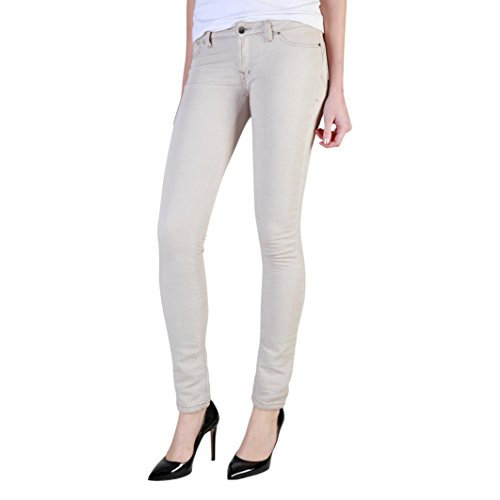 unie polaire Jogger femme basse doublure couleur up 788 pour Carrera taille Beige Jeans jeans push cigarette style taille XnwBUz