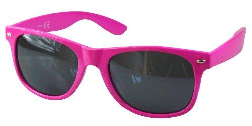 monture de differentes soleil 80's retro Magenta style Wayfarer couleurs Lunettes 7gpYUqHcwY