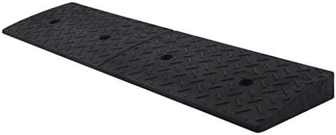 屋内/屋外 ガレージの入り口サービススロープ、ブラックラバーのロードスロープ学校の駐車場の縁石のスロープ身長:4-9CM 車庫アクセサリ (Size : 100*25*6CM)