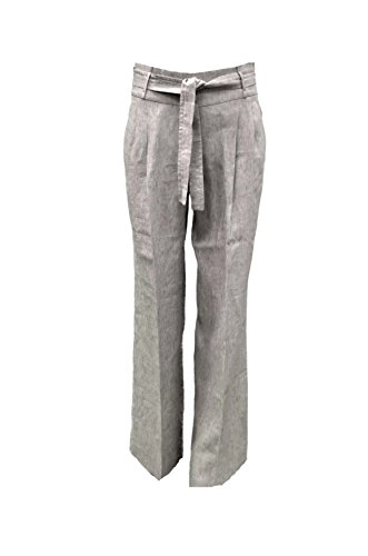 intrend-maxmara-womens-pleated-linen-high-waisted-pants-sz-6-flax-grey-150333mm