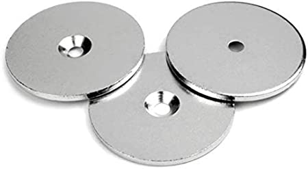 Quantit/á:25 pezzi Rondelle piane in ferro zincato /Ø 50mm x 5mm
