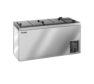 Master-Bilt DC-10DSE Ice Cream Dipping Cabinet with Stainless Steel Exterior, (14) 3 Gallon Display & (11) 3 Gallon Storage Capacity