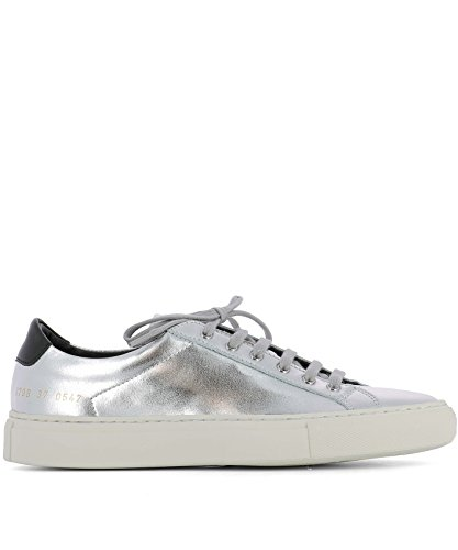 Marke PROJECTS COMMON pour It Größe Femme Baskets Argenté Silber SR0FwTRq
