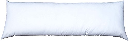 Pillowflex Synthetic Down Alternative Pillow Inserts for Shams (20 Inch by 72 Inch King Body) by Pillowflex