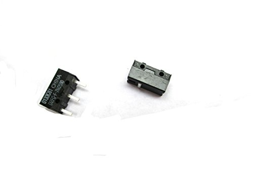 2X Replacements For OMRON Micro Switch Microswitch D2FC-F-7N for Mouse by COOLTOOL