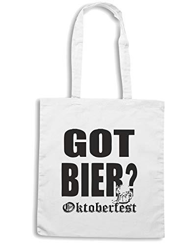 BEER0102 Speed Shirt LIGHT OKTOBERFEST Bianca Borsa 2 Shopper rCIqCAw