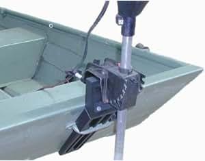 Jon boat trolling motor bracket for bow or for Bow mount electric boat motors