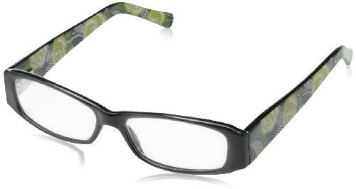 Vera Bradley Phyllis Rectangular Reading Glasses,La Neon - Eyewear Vb