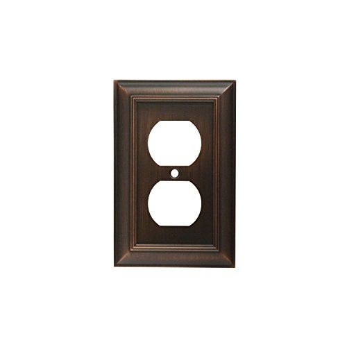 Wall Out Plate Duplex - CKP Brand #31191 Duplex Wall Plate, Oil-Rubbed Bronze