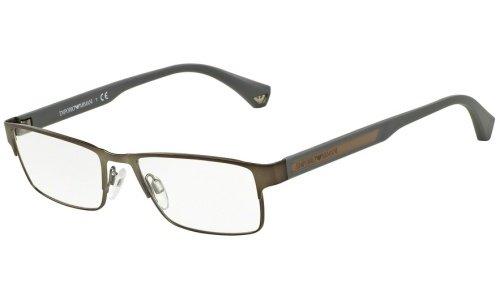Emporio Armani EA 1035 Men's Eyeglasses Matte Gunmetal 53