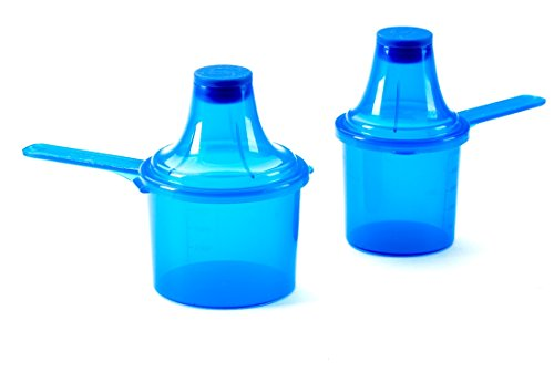 The Scoopie Portable Scoop and Funnel 2 Pack (Blue)
