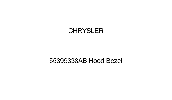 Genuine Mopar Hood Bezel Right 55399338AB