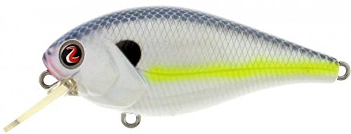 River2Sea Ish Biggie Crankbaits Rattle I Know It Fishing Lure, Small, White/Yellow