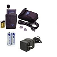 Williams Sound Pocketalker Pro BUNDLE with Standard Headphones and Rechargeable Battery Kit