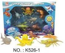 jupesa Caja 6 Animales Marinos GROTESCOS: Amazon.es: Juguetes y juegos