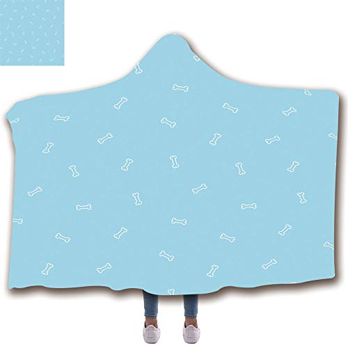 (Fashion Blanket Ancient China Decorations Blanket Wearable Hooded Blanket,Unisex Swaddle Blankets suit for Kids(43