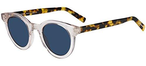Dior Crystal (Dior Black TIE 218S Crystal Blonde Havana/Blue 47/25/150 Men Sunglasses)