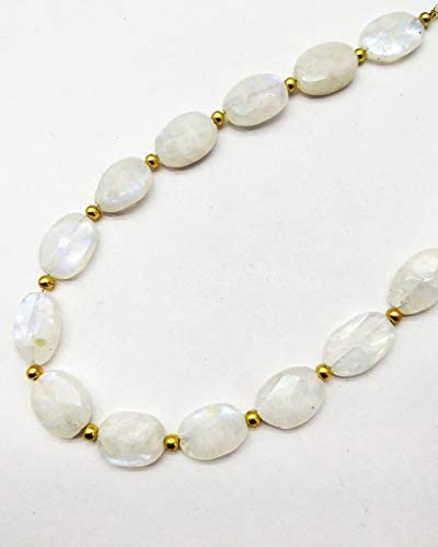 A One Quality  Rainbow Moonstone 1 Strand Beads 5-6 mm Strand Length 10 Inch Shape  Rondelle Cut Beads  JM222