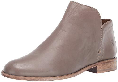 FRYE Women's Elyssa Shootie Ankle Boot, Grey, 8 M US