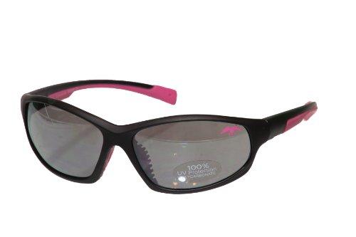 Sun Commander - DUCK COMMANDER DC-SGP Ladies Frame Sunglasses with Pink Accents, Matte Black