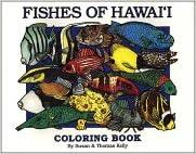 fishes of hawaii coloring book - Hawaii Coloring Book