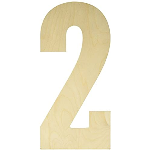 large wooden numbers amazon com