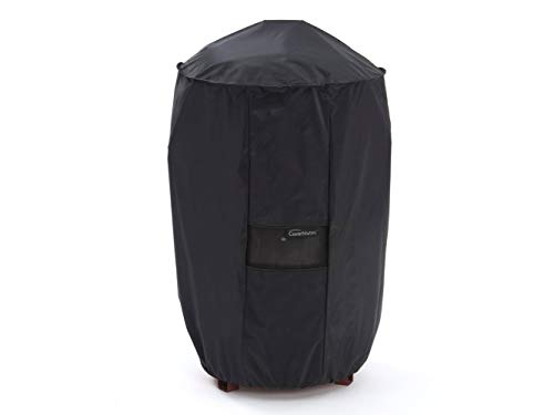 Covermates – Round Smoker Cover – 22 Diameter x 32H – Classic Collection – 2 YR Warranty – Year Around Protection - Black - Covers Smoker Covermates