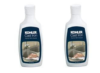 KOHLER K-1012525 Cast Iron Cleaner - 8 oz Bottle (2-(Pack))