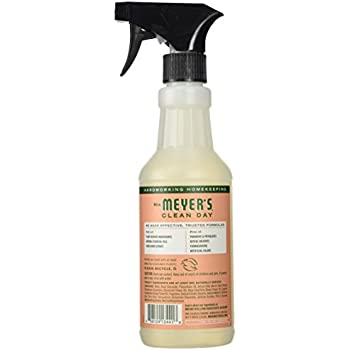 Mrs. Meyer's Clean Day Multi-Surface Everday Cleaner, Geranium, 16 Fluid Ounce
