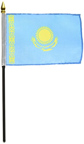 Us Flag Store Kazakhstan Flag, 4 by 6-Inch