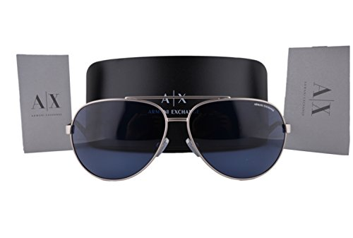 Armani Exchange AX2017S Sunglasses Silver product image