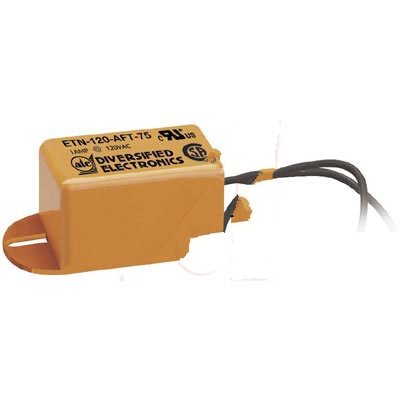 ATC Diversified Electronics ETN-120-AFT-75, Flasher; 1 A; Solid-State; 75 FPM; 50%; 6 in. Wires; -20 degC; 60 degC; 1.63 (Diversified Electronics)