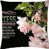 enthusiastic pink - Throw Pillow Cover Case (18