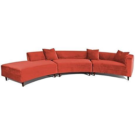 Decenni Curva Sectional Sofa Hacienda