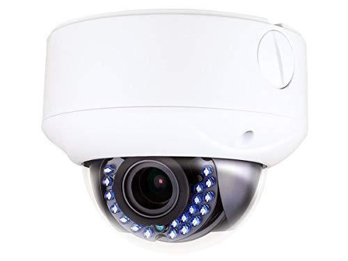 Monoprice 114653 IP66 Rated Vandal Proof 2.8-12mm Vari-Focal TVI Dome Camera (White)