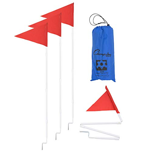 Champion Sports Soccer Fold a Flag Set