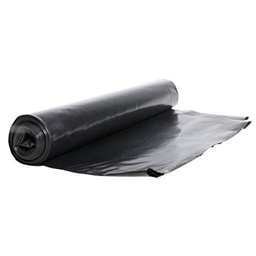Müllsäcke Abfallbeutel Mülltüten Schwarz 120L 50 Stück