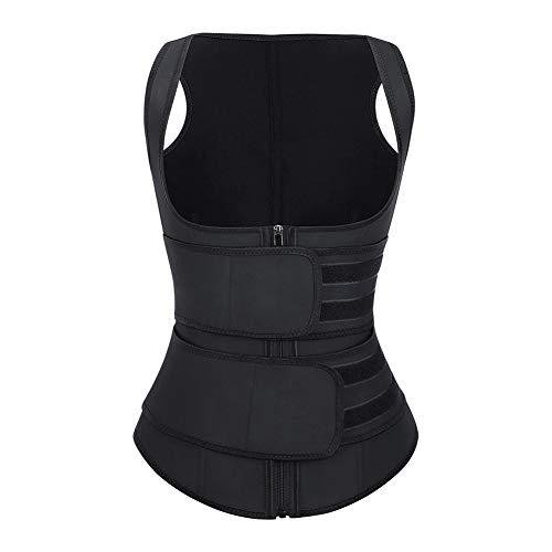 FeelinGirl Women Steel Boned Workout Waist Cincher Body Shapewear Tummy Control XL