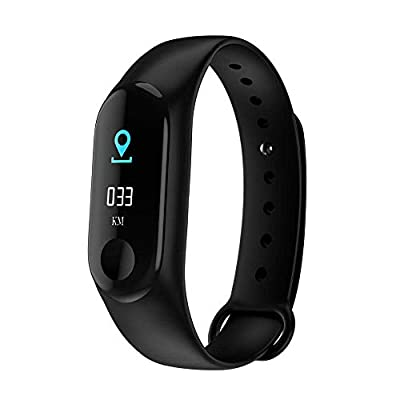 Fitness Tracker HR Activity Tracking Watch with Blood Pressure and Heart Rate Monitor, Waterproof Smart Band Bracelet,Pedometer,Bluetooth,Sleep Monitoring,Calorie Counter,Message Reminder,Answer Call