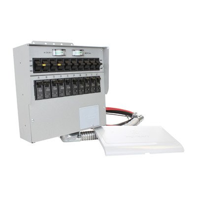 A310C Pro/Tran2 30-Amp 10-Circuit 2 Manual Transfer - Switch 10 Circuit Transfer