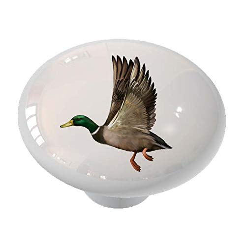 Flying Mallard Duck Drawer/Cabinet Knob by Gotham Decor