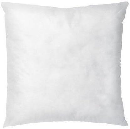 "IZO 20/"" X 20/"" Sham Stuffer Square Pillow Form Insert Polyester,Standard"