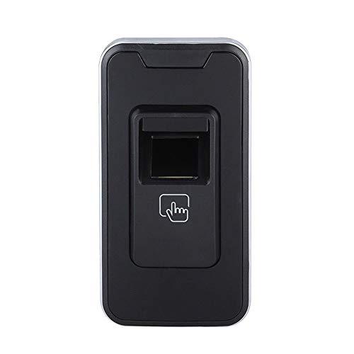 (KOET Office Home Smart Security Fingerprint Sauna Intelligent Learning Tool Cabinet Lock (Black)(Black))