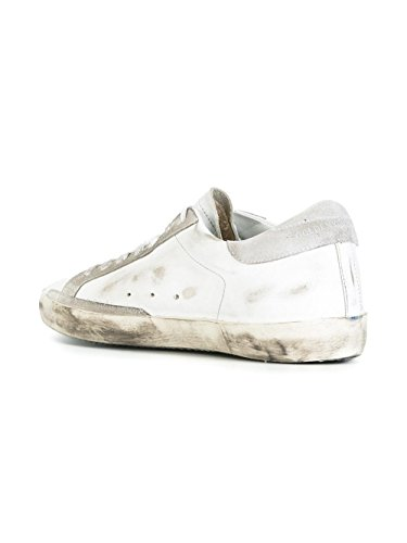 Golden Goose Sneakers Uomo G30MS590B16 Pelle Bianco