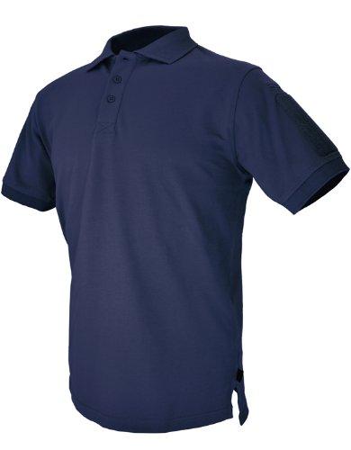 Hazard 4 Herren Unterjacke Plain Front Battle Polo Shirt Navy Größe 3XL