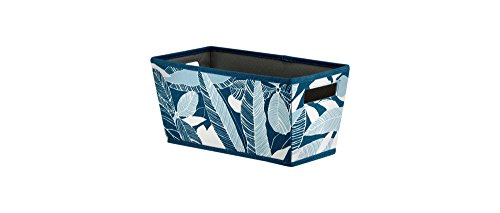 Fabric Quarter Bin - Threshold (Navy Floral)