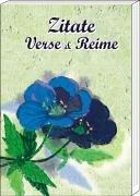 Zitate, Verse & Reime